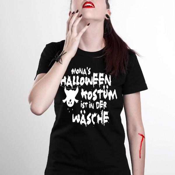 Individuellbekleidung - Halloween Kostüm für Damen mit Wunschname - Onlineshop Geschenke online.de