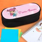 Stiftebox mit rosa Tulpenfee und Name