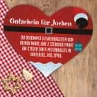 Puzzle-Gutschein als Weihnachtsgeschenk mit Ihrem Wunschtext