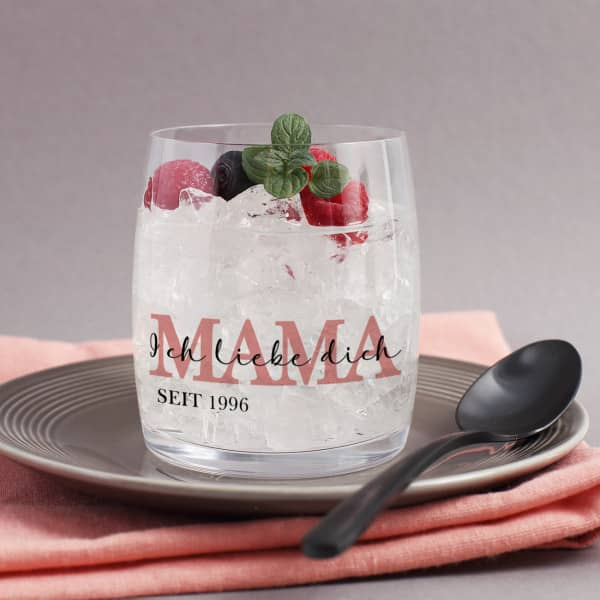 Trinkglas für die beste Mama
