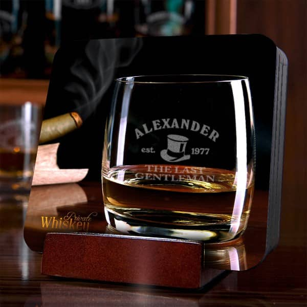 Untersetzer Set für Whisky