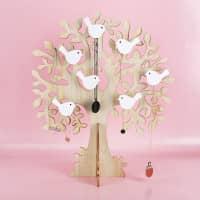 Schmuckständer - Lebensbaum mit Vögelchen