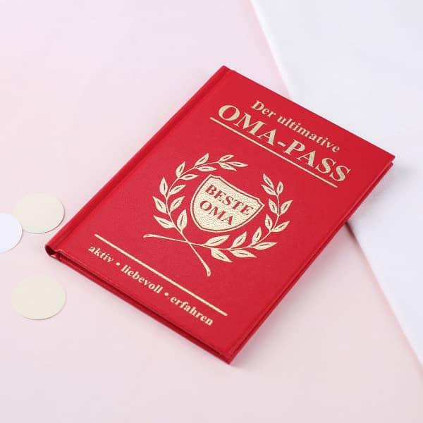 Der ultimative Oma Pass Spaßbuch
