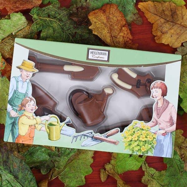 Köstlichsüsses - Schokoladen Figuren Gärtner - Onlineshop Geschenke online.de