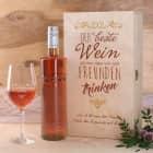 Weinset für die Liebsten mit Bree Weinflasche und Weinglas