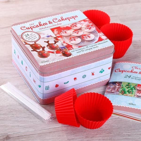 Cupcakes & Cakepops Weihnachtsbox