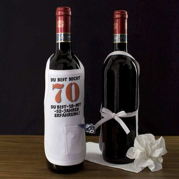 Mini Schürze zum 70. Geburtstag