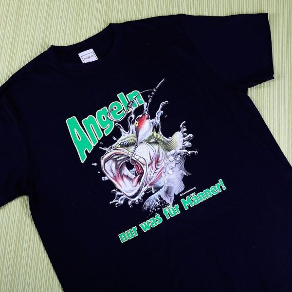T Shirt Angeln Nur was für Männer