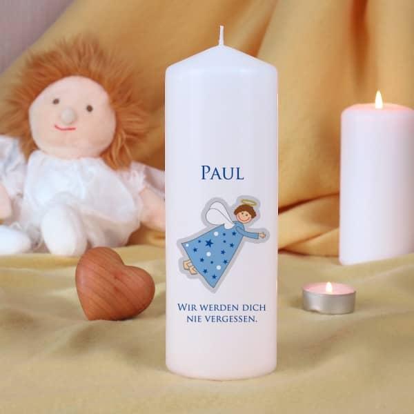 Trauerkerzen für Kinder - Blau