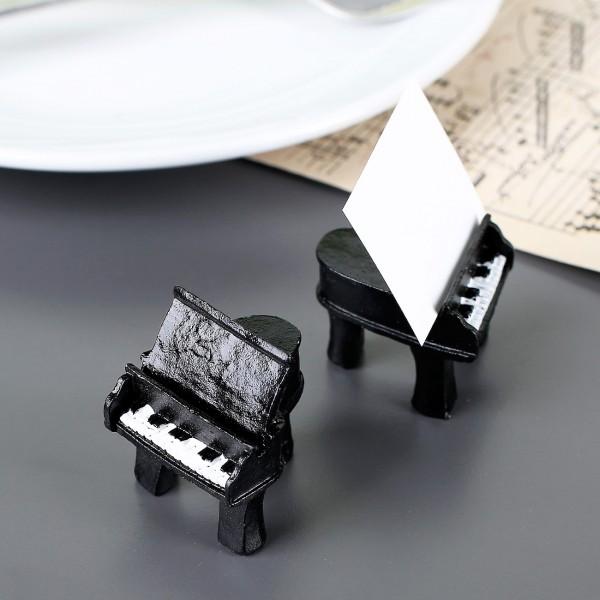 2er - Set Tischkartenhalter Piano