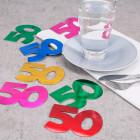 Jumbo-Konfetti zum 50.Geburtstag