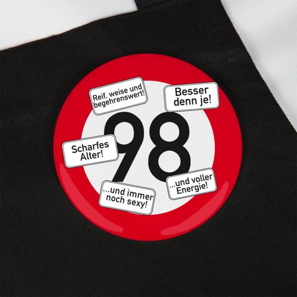 Button zum 98. Geburtstag