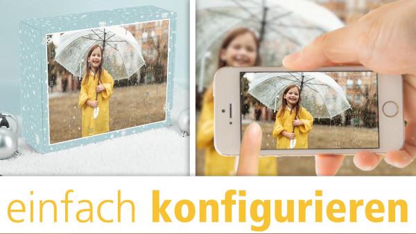 personalisierten Foto-Adventskalender einfach konfigurieren