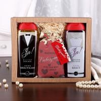 Geschenkset zur Hochzeit mit Duschgel und Badesalz