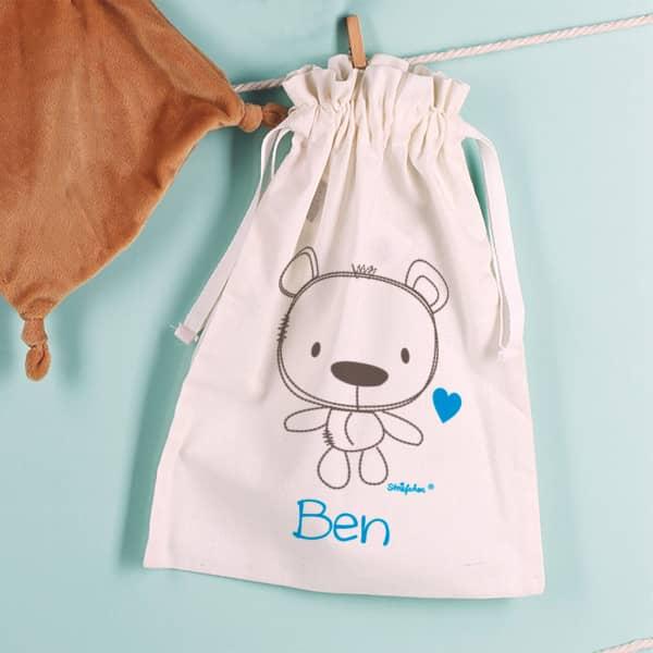 Geschenksäckchen zur Geburt für Jungs