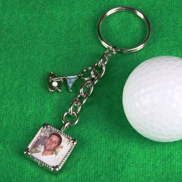 Foto Schlüsselanhänger für Golfer
