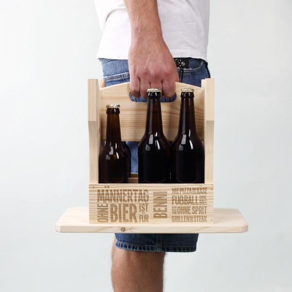 Hocker-Flaschenträger zum Männertag