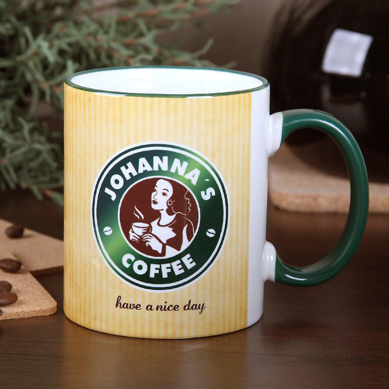 personalisierte kaffeetasse g nstige k che mit e ger ten. Black Bedroom Furniture Sets. Home Design Ideas