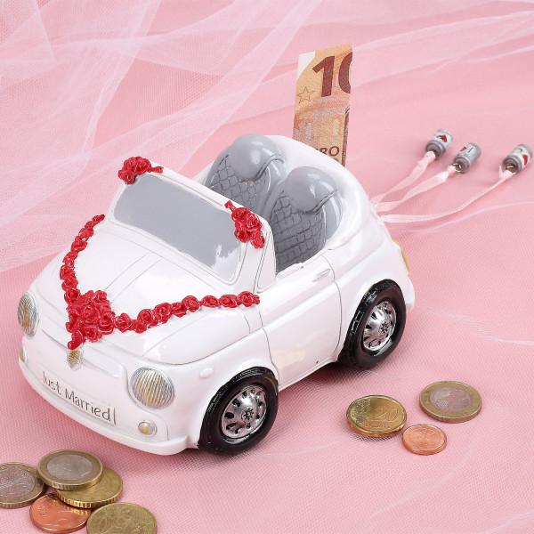 Spardose zur Hochzeit - Cabrio