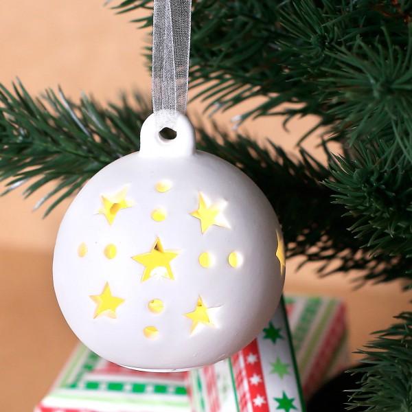Keramikkugel mit LED - Beleuchtung