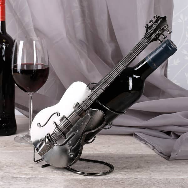 Metallflaschenhalter Gitarre