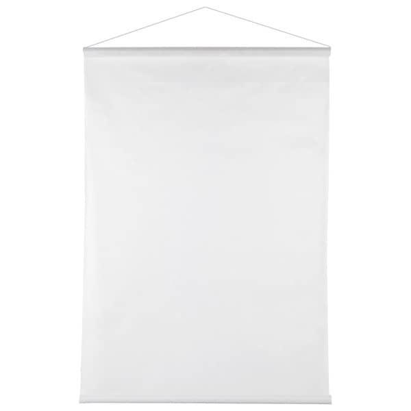 Deko Vlies Banner in Weiß