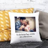 Kissen mit Ihrem Foto und Text
