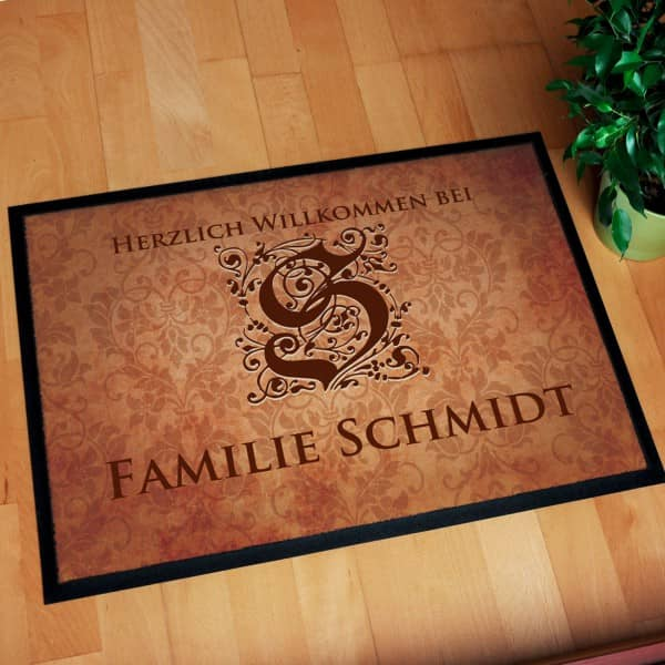 personalisierte fu matte mit namen bedrucken walk of fame pers nliche fu matten zur hochzeit. Black Bedroom Furniture Sets. Home Design Ideas