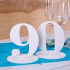 Tischnummer 90 für Geburtstag