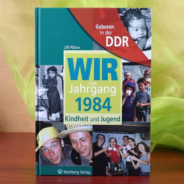 Jahrgangsbuch DDR 1984