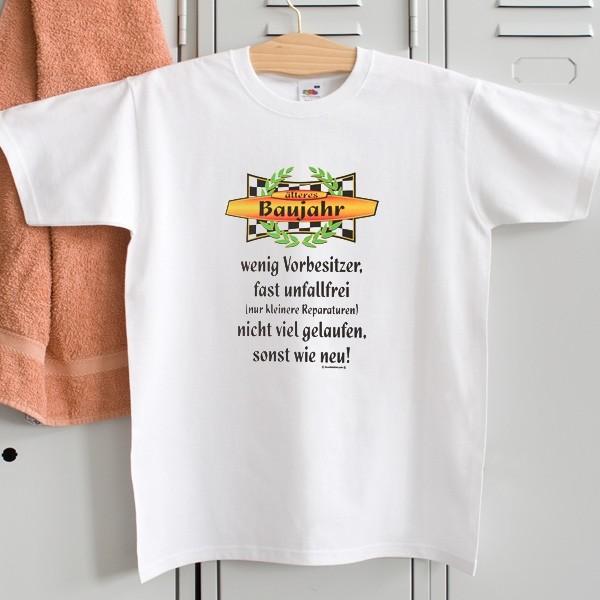 T-Shirt für Singles zum Geburtstag