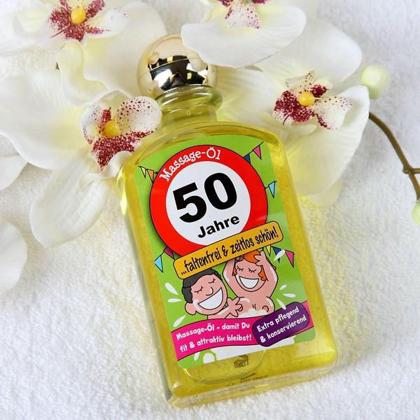 Massage öl zum 50. Geburtstag