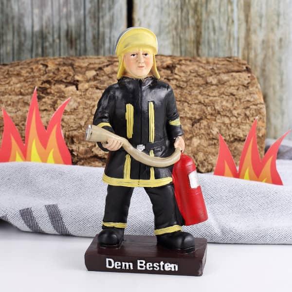 Feuerwehrmann Figur Dem Besten