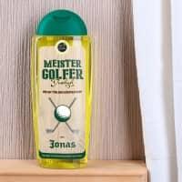 Olivenduschgel für Meister Golfer mit Name