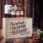 Whisky-Geschenkset für Freunde mit Humor - Whiskyglas mit Bowmore Whisky