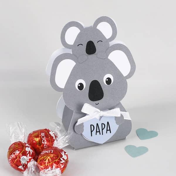 Koala mit 3 Lindorkugeln zum Mutter- und Vatertag