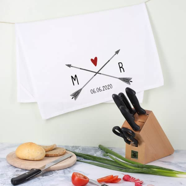 WMF Messerblock mit Geschirrtuch