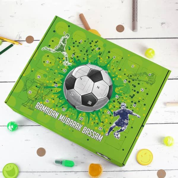 Fußball Ramadan-Kalender zum selbst Befüllen