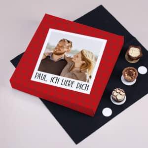 Personalisierte Schokolade zum Valentinstag