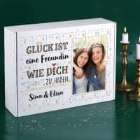Glück ist... DIY Adventskalender mit Foto und Wunschtext