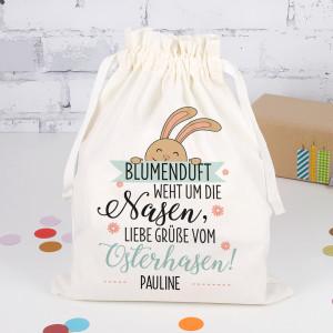 Geschenksack zu Ostern mit Name