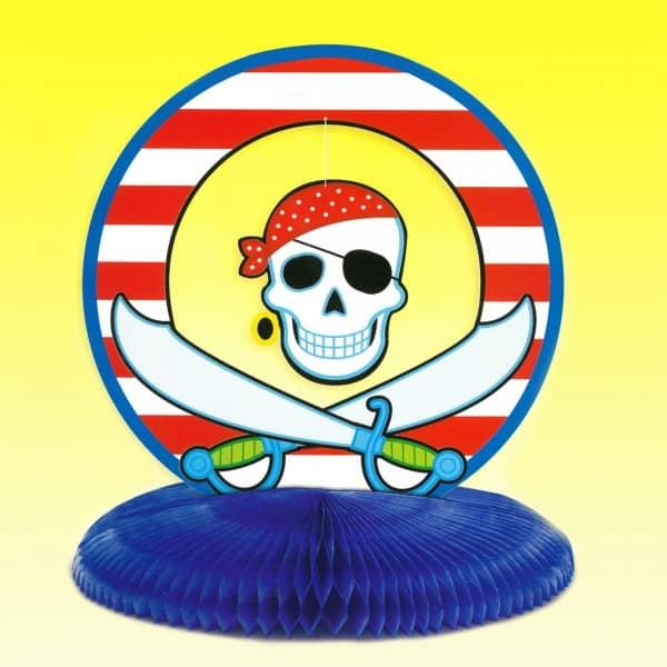 Tischdeko für Kindergeburtstag Motto Pirat