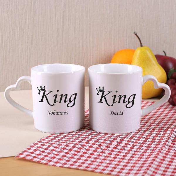 Paartassen King & King oder Queen & Queen