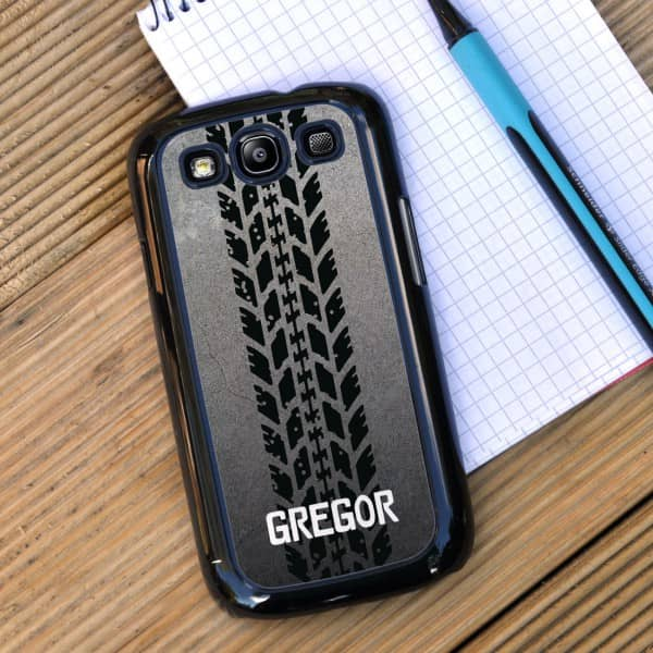 Galaxy S3 Cover mit Name für Motorsport-Fans
