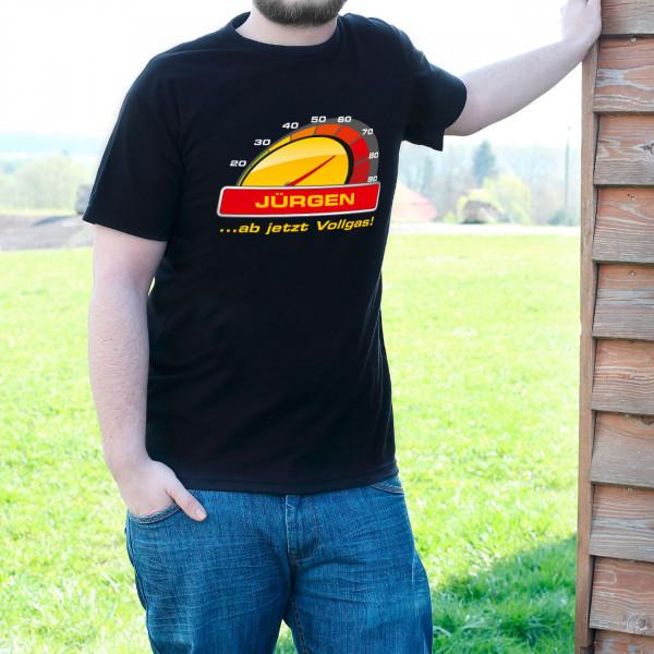 T Shirt zum 70. Geburtstag ab jetzt Vollgas