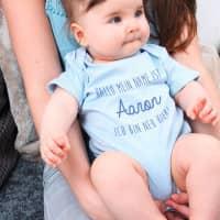 Babybody zur Geburt - Ich bin neu hier!