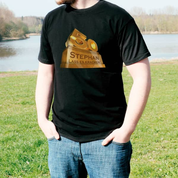 Das Ultimative T Shirt für den 50 jährigen Jubilar
