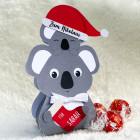 Koala mit 3 Lindorkugeln zum Nikolaus
