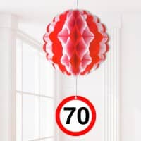 Party-Dekoration Ballon zum 70. Geburtstag