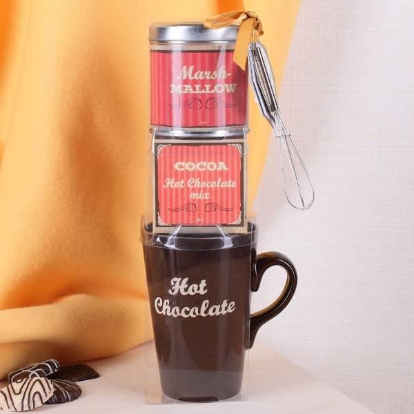 Kakao-Geschenkset 4-teilig in braun